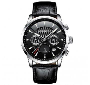 Мужские Часы наручные CRRJU,черные  6985