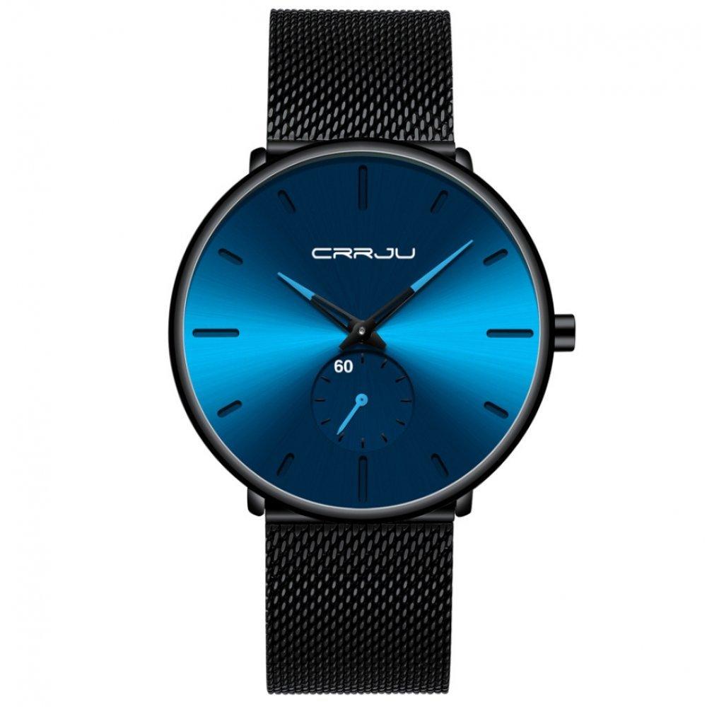 Мужские Часы наручные CRRJU, синие 6987