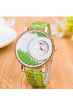 Женские часы Hesiod зеленые