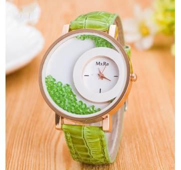 Женские Часы наручные Hesiod зеленые 7043