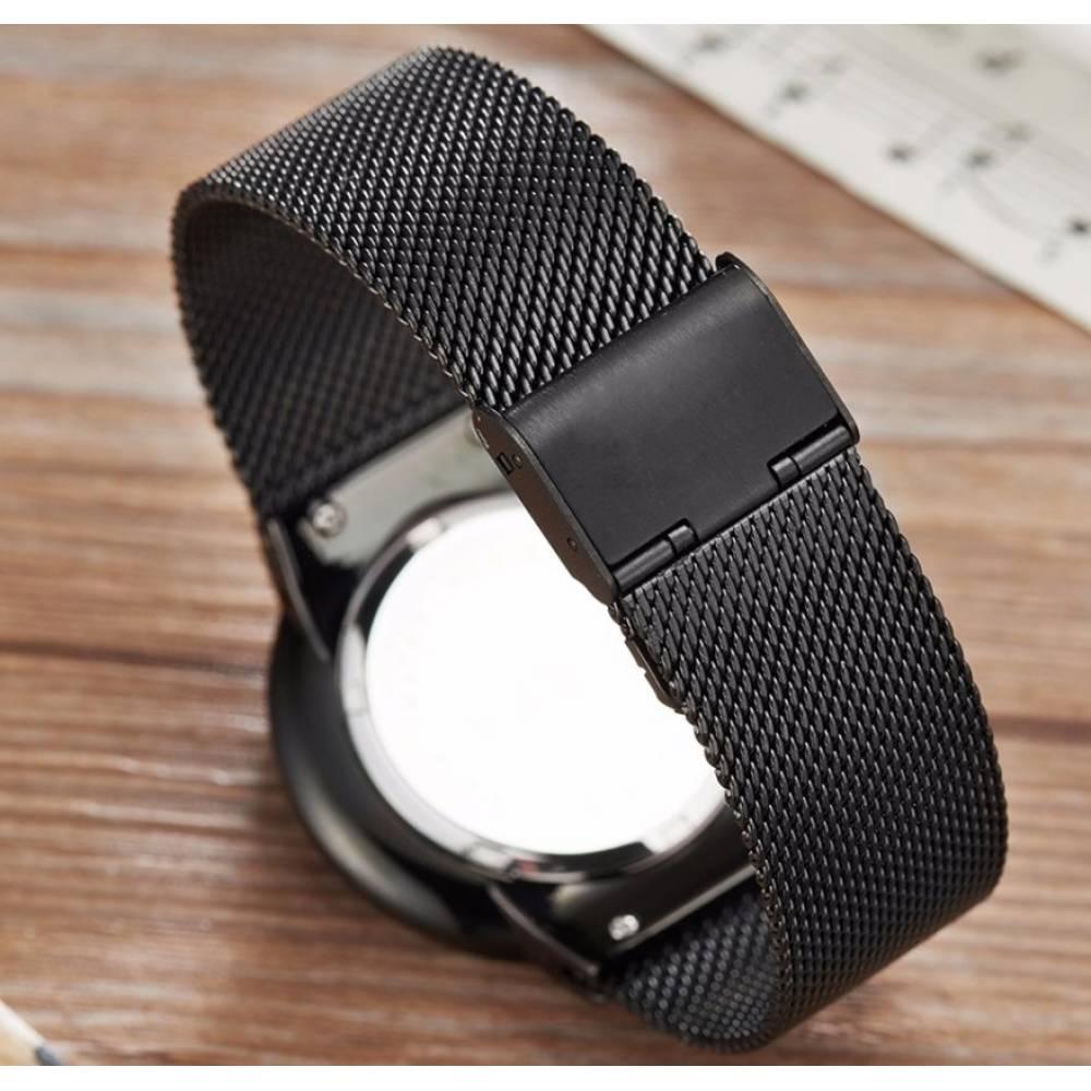 Мужские Часы наручные LIGE, черные 7197