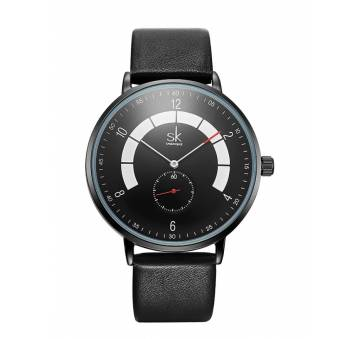 """Мужские Часы наручные """"SK"""", черные 7204"""