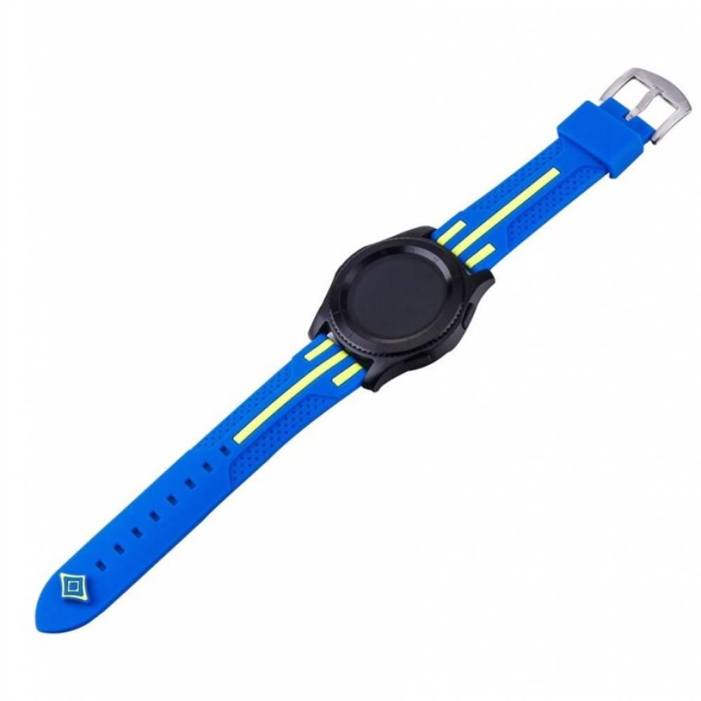 Ремешок для Gear S3, Samsung galaxy watch, синий 7227