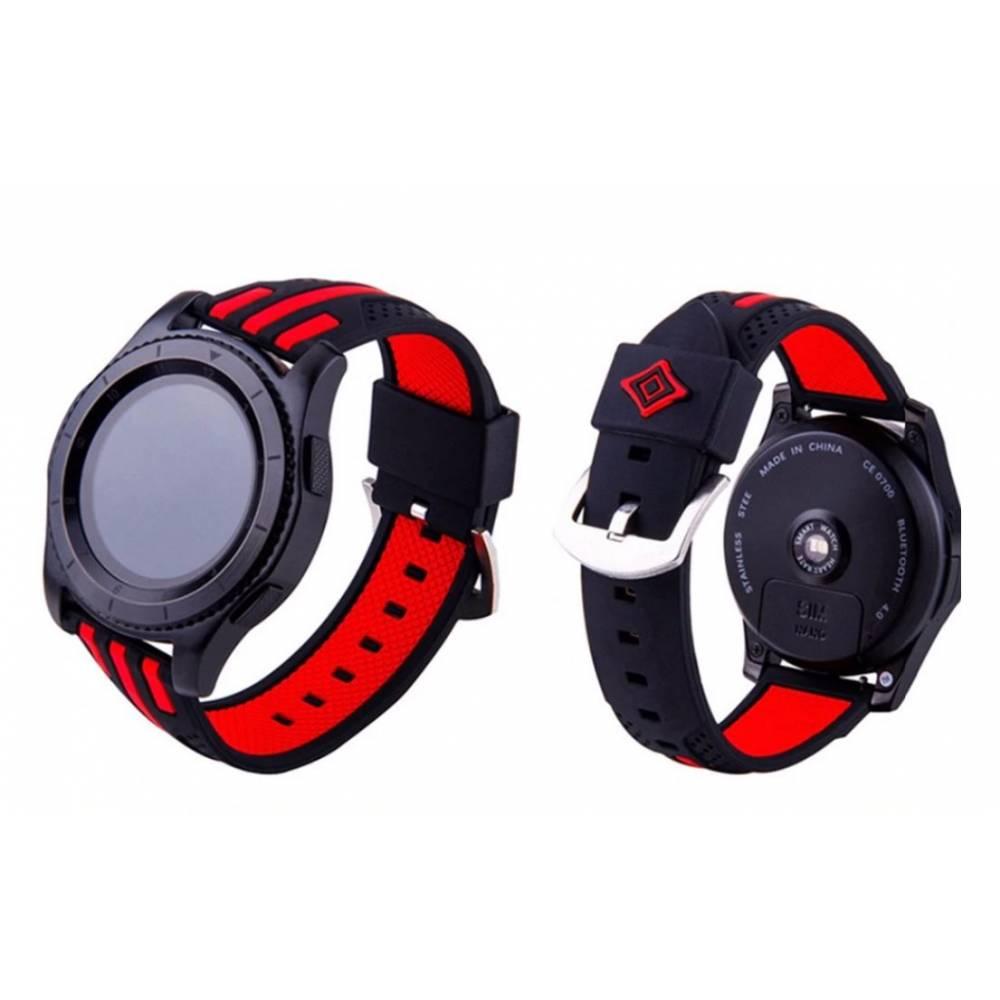 Ремешок для Gear S3, Samsung galaxy watch, черный 7229
