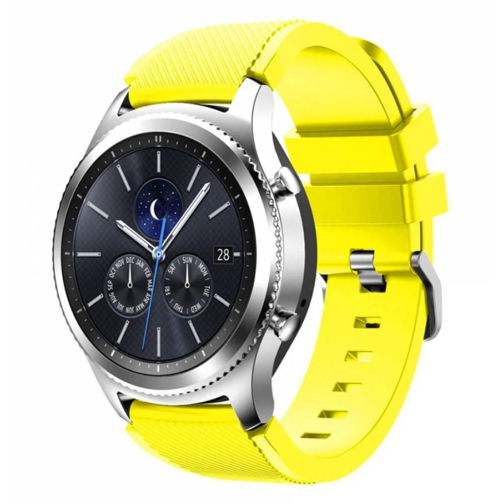 Ремешок для Gear S3, Samsung galaxy watch, желтый 7234