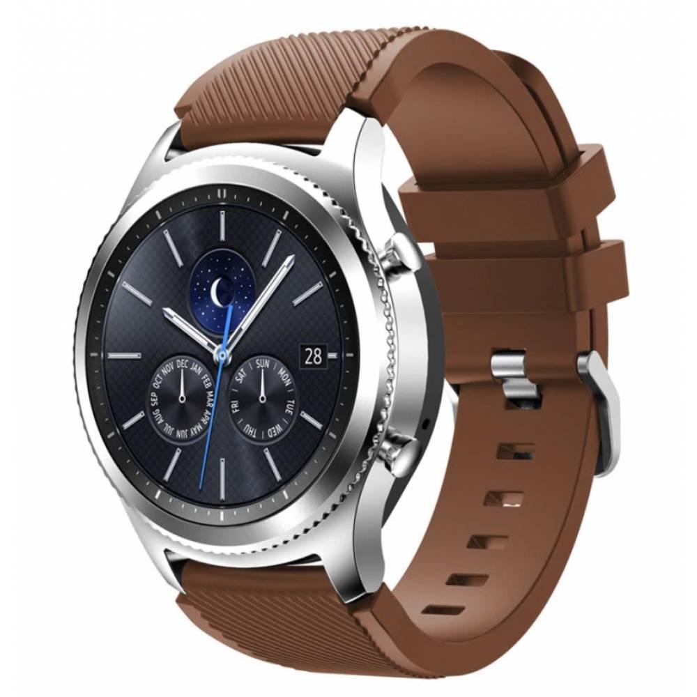 Ремешок для Gear S3, Samsung galaxy watch, коричневый 7235