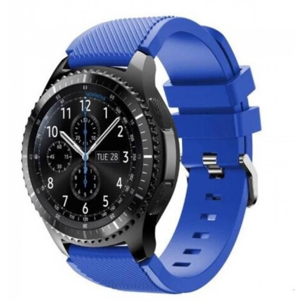 Ремешок для Gear S3, Samsung galaxy watch, синий 7237