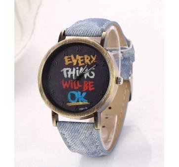 Женские Часы наручные LVPAI, голубые 7245