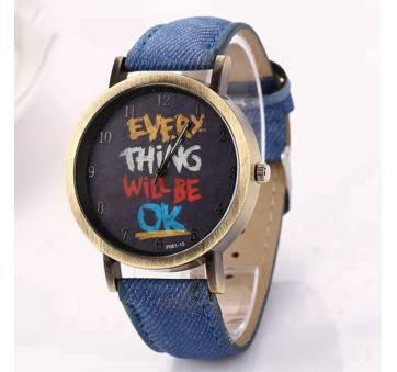 Женские Часы наручные LVPAI, синие 7246