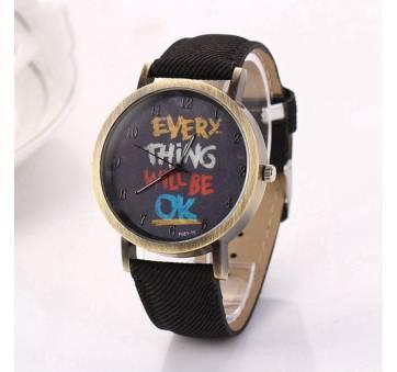 Женские Часы наручные LVPAI, черные 7247