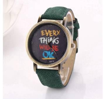 Женские Часы наручные LVPAI, зеленые 7248