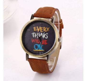 Женские Часы наручные LVPAI, коричневые 7251