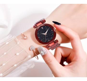 """Женские Часы наручные """"LVPAI"""", красные 7258"""