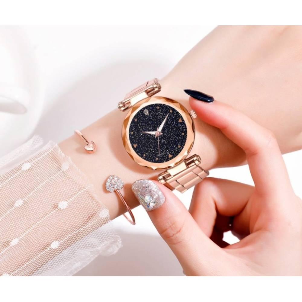 """Женские Часы наручные """"LVPAI"""", золотистые 7259"""