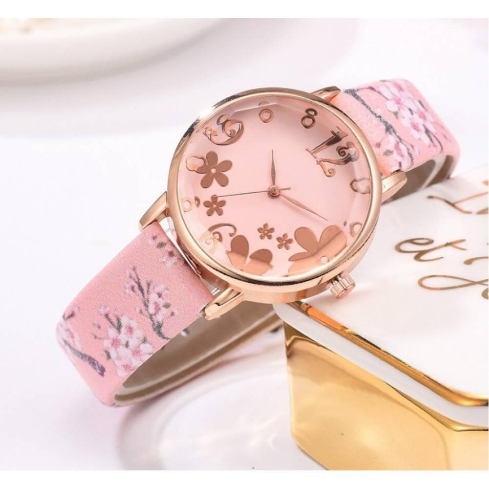 """Женские Часы наручные """"LVPAI"""", розовые 7272"""