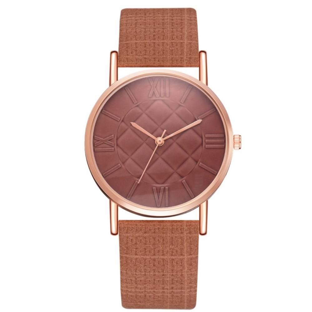 """Женские Часы наручные """"LVPAI"""", коричневые 7276"""