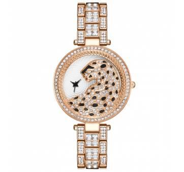 """Женские Часы наручные """"LVPAI"""" Леопард, золотистые 7279"""