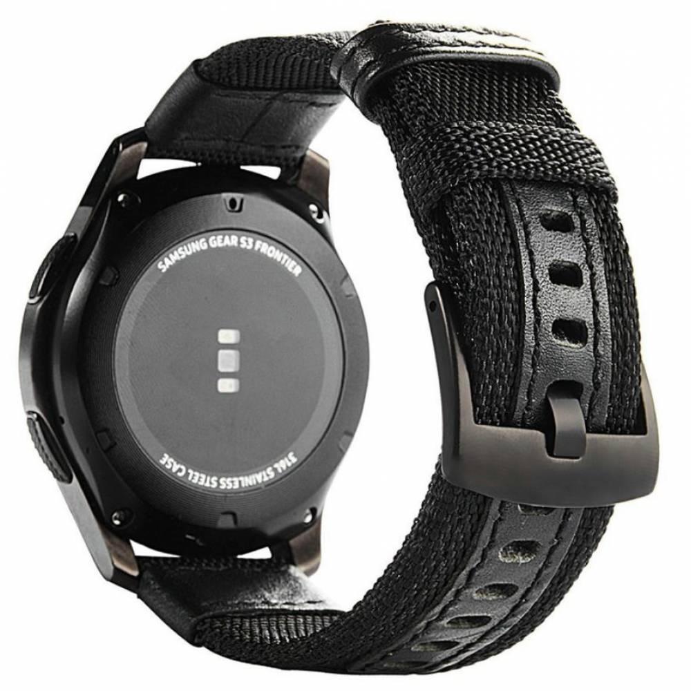 Ремешок для Gear S3, Samsung galaxy watch, нейлоновый 7583