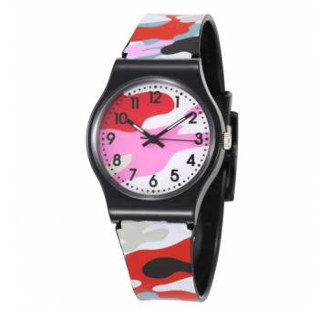Детские Часы наручные Susenstone, камуфляж  7590