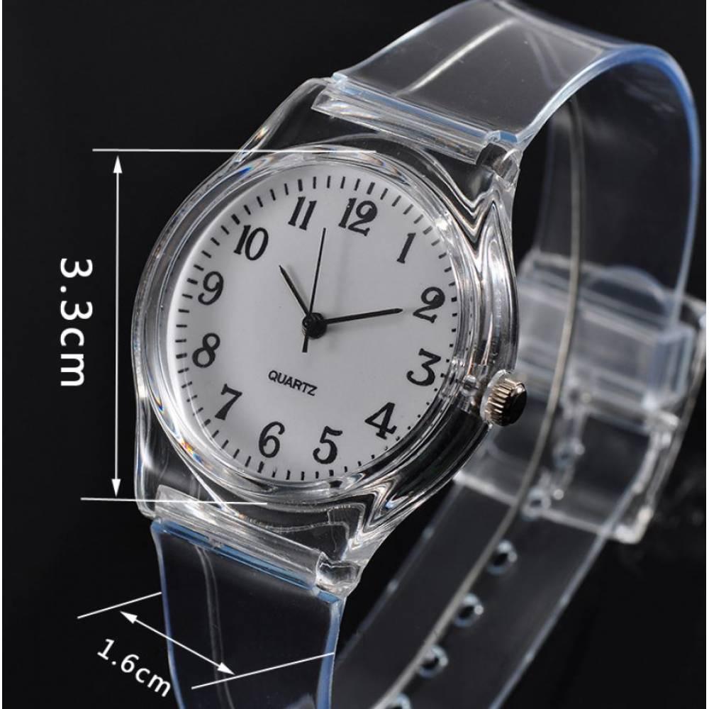 Женские Часы наручные, прозрачные 7597