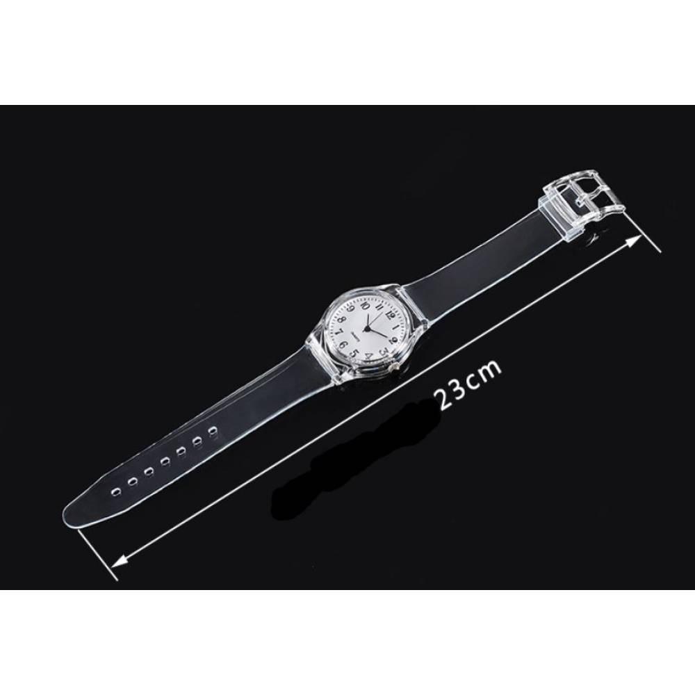 Женские Часы наручные, прозрачные 7599