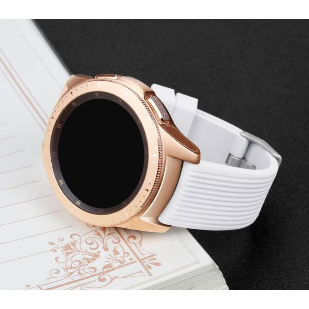 Ремешок для Gear S3, Samsung galaxy watch, белый 7618