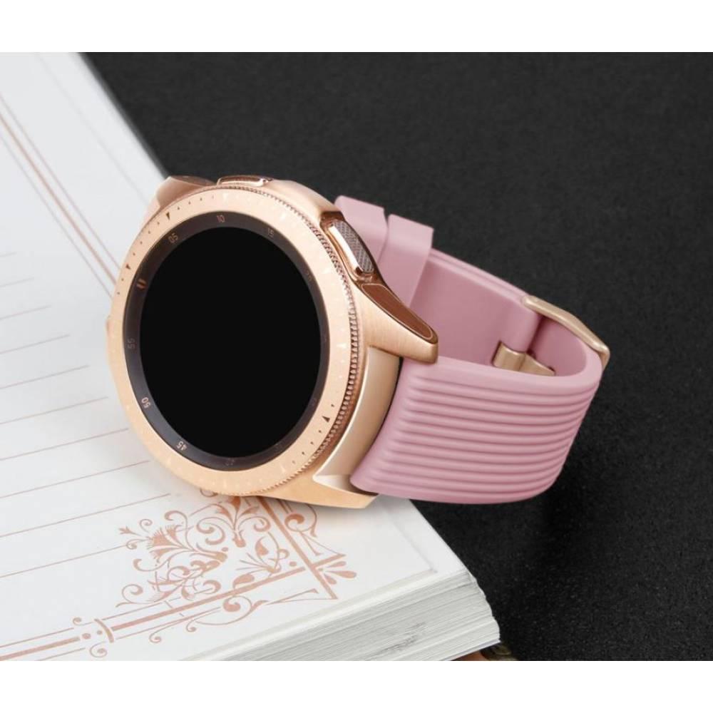 Ремешок для Gear S3, Samsung galaxy watch, розовый 7619
