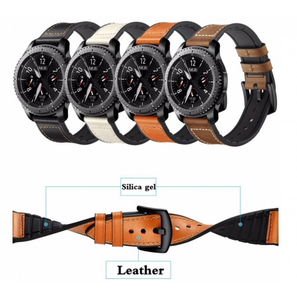 Кожаный ремешок для Gear S3, Samsung galaxy watch 7620