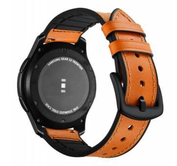 Кожаный ремешок для Gear S3, Samsung galaxy watch 7621