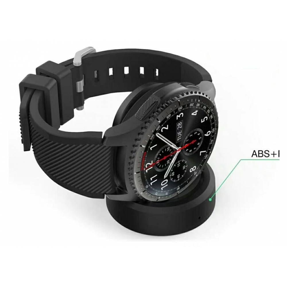 Аксессуары Беспроводная зарядка для Samsung Galaxy Watch, Gear S3 S2, Ticwatch Moto 360 1 2 7633