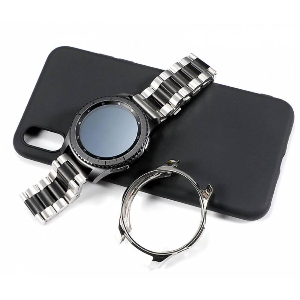 Браслет и чехол для Samsung Gear S3 Frontier 7637