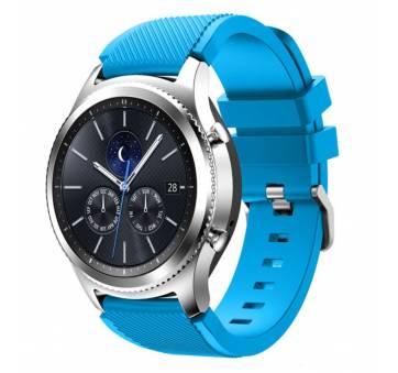 Ремешок для Gear S3, Samsung galaxy watch, голубой 7659