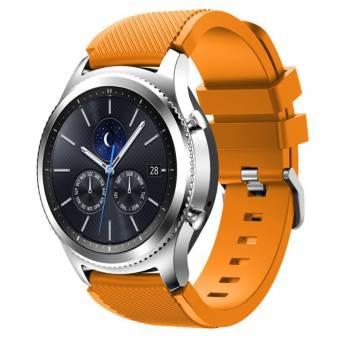 Ремешок для Gear S3, Samsung galaxy watch, оранжевый 7661