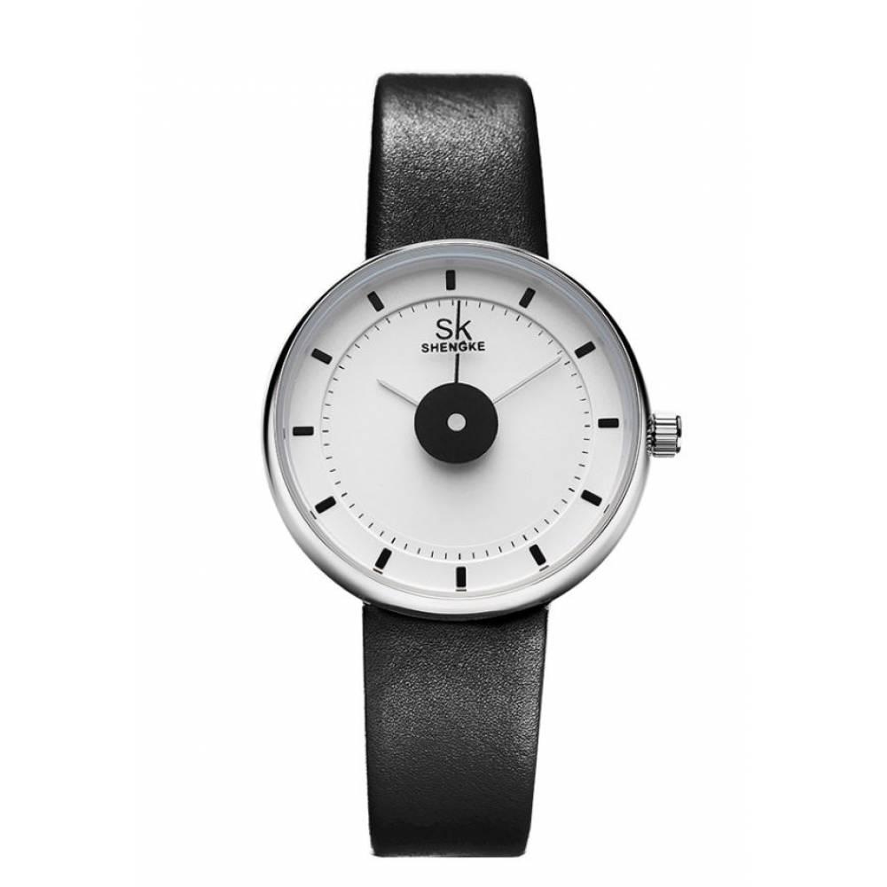 Женские Часы наручные SK, черные 7665