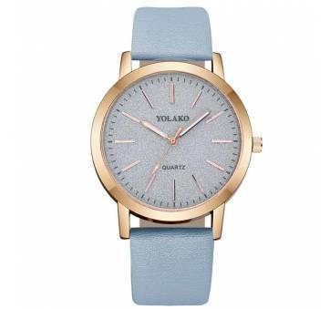 Женские Часы наручные Yolako, голубые 7667