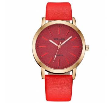 Женские Часы наручные Yolako, красные 7668