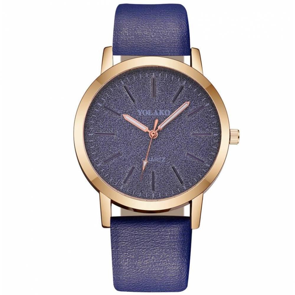 Женские Часы наручные Yolako, синие 7669