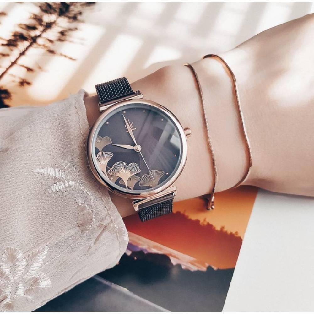 Женские Часы наручные SK, синие 8125