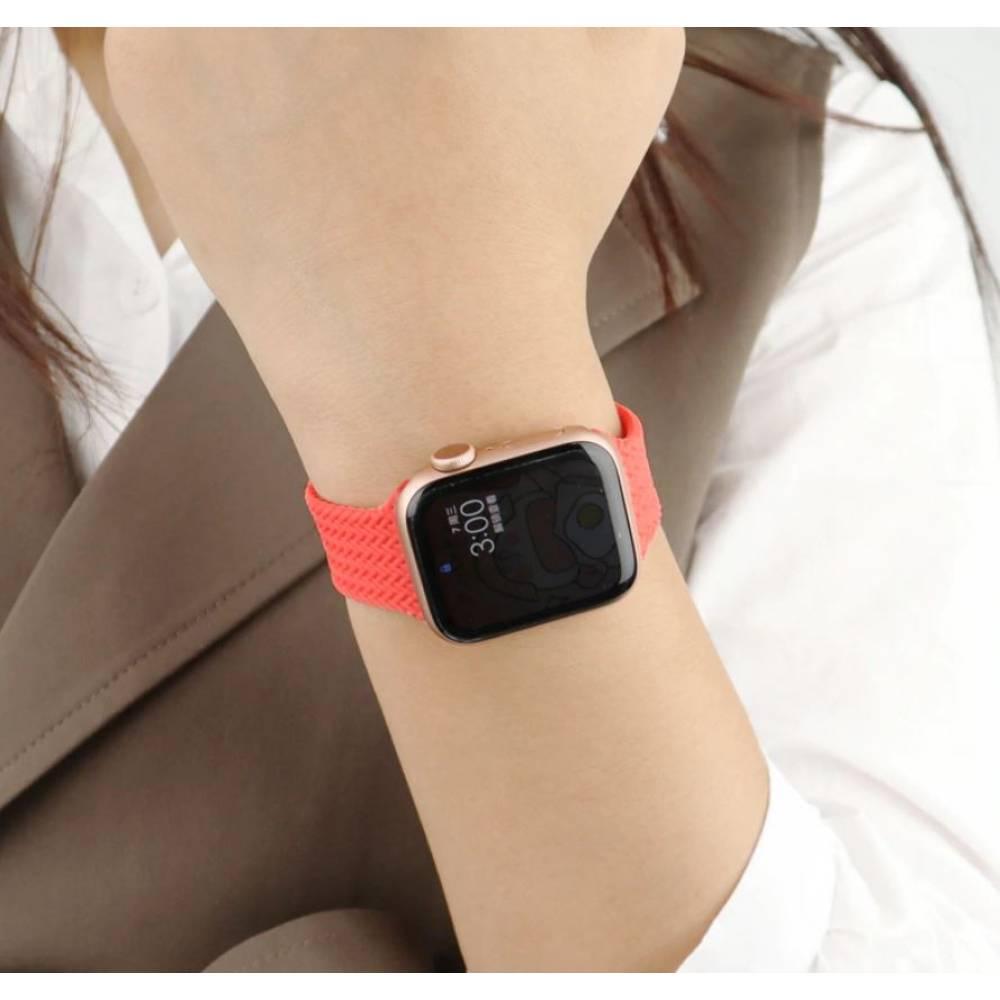 Ремешок на часы Apple watch, синий 8207