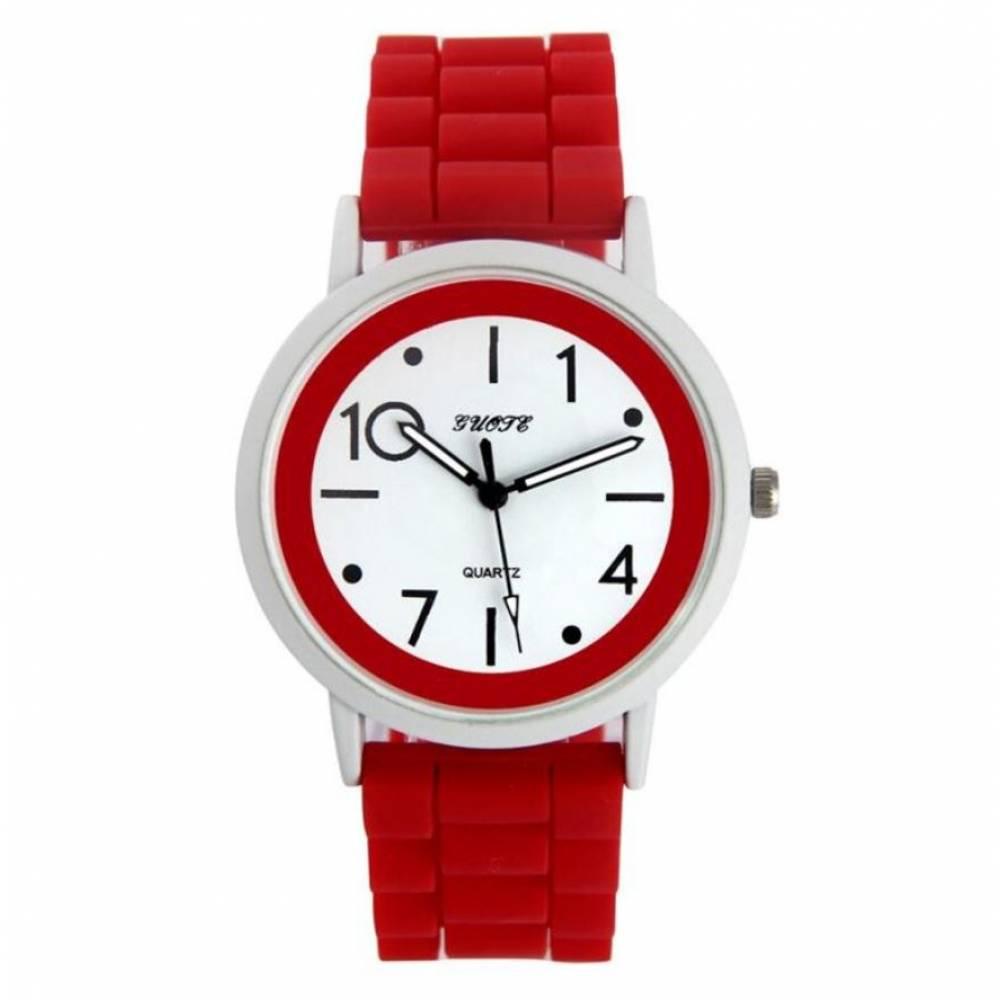 Женские Часы наручные Susenstone, красные 8391