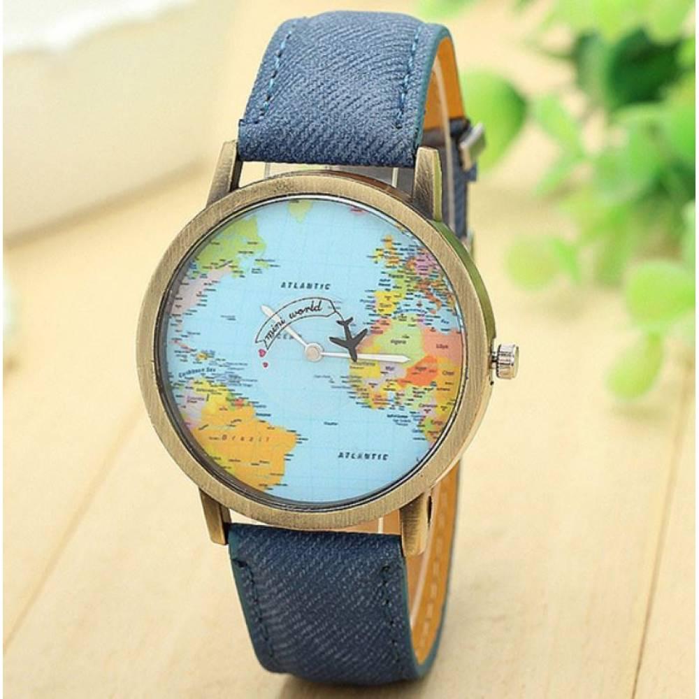 Женские Часы наручные BGG синие 8393
