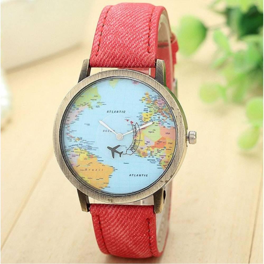 Женские Часы наручные BGG красные 8394