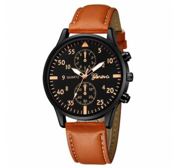 Мужские Часы наручные Duobla, коричневые 8399