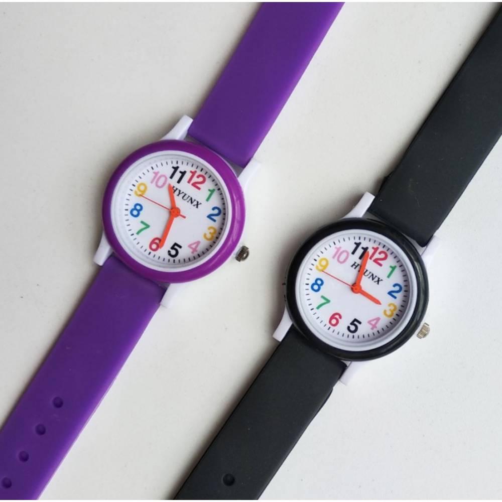 Детские Часы наручные, черные 8545