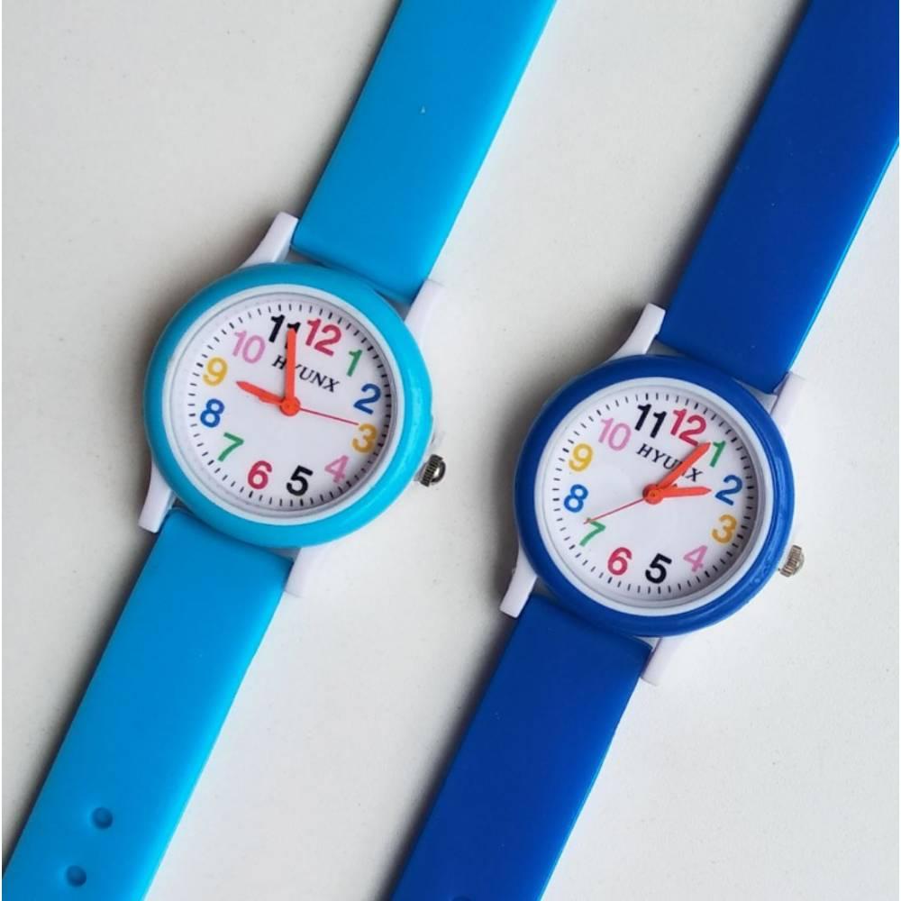 Детские Часы наручные, синие 8546