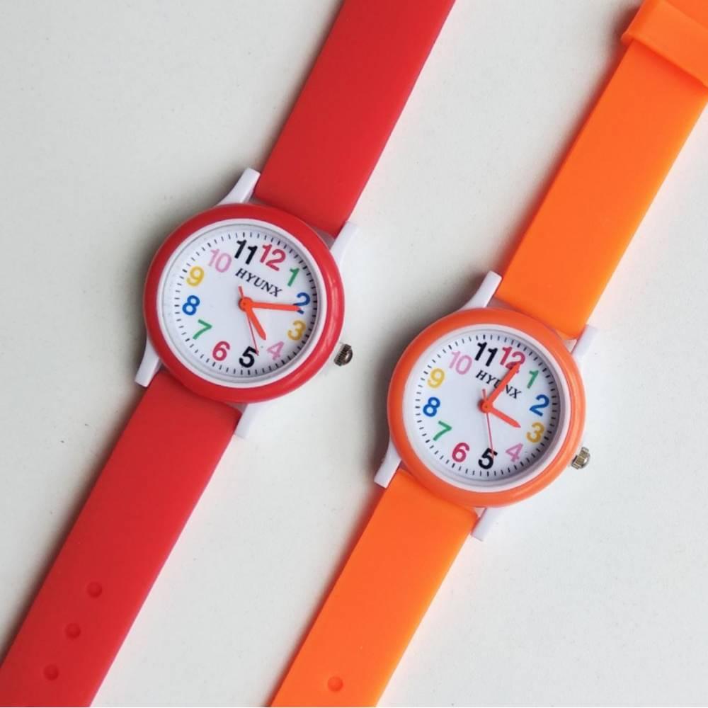 Детские Часы наручные, красные 8547