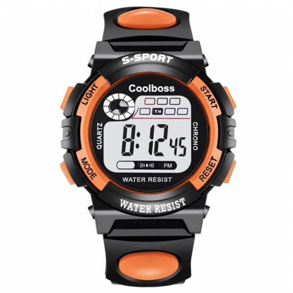 Детские Часы наручные coolboss, оранжевые 8554