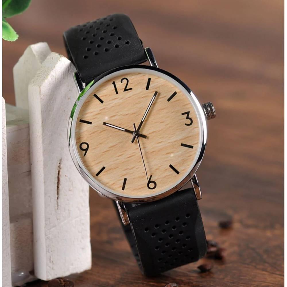 Часы наручные BB дерево 8557
