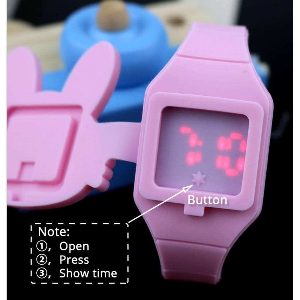 Детские Часы наручные JOYROX, серые 8600