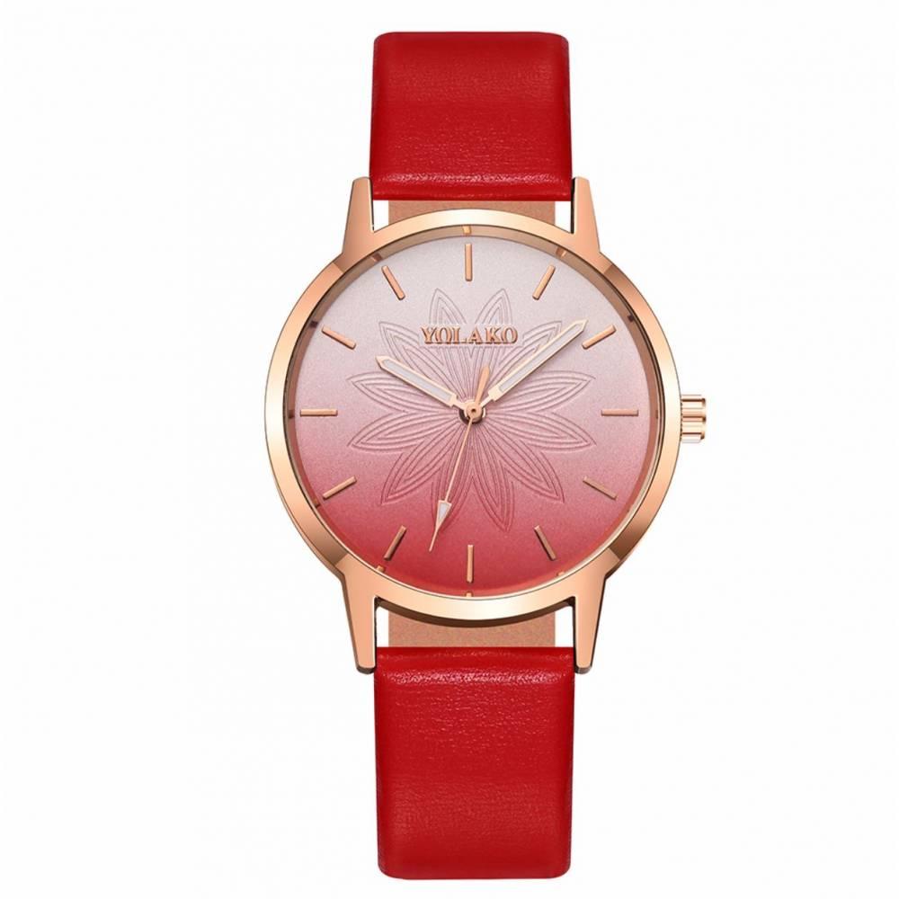 """Женские Часы наручные """"SOXY"""", красные 8613"""